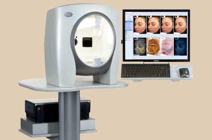 Visia 3D pregled lica